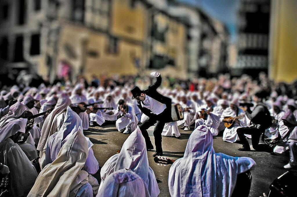Mundaka Carnaval Spain in winter